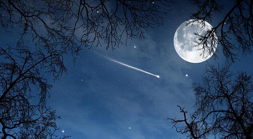 Eta Acquaridi: le stelle cadenti di maggio
