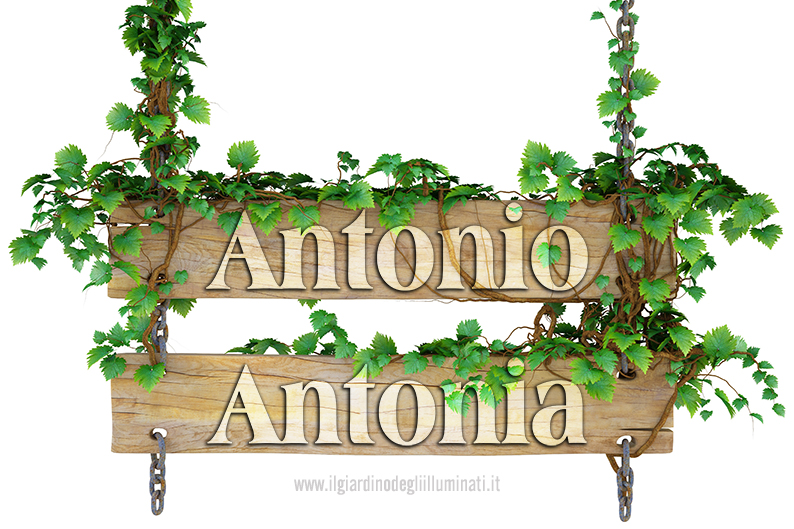 Antonia Antonio significato e origine