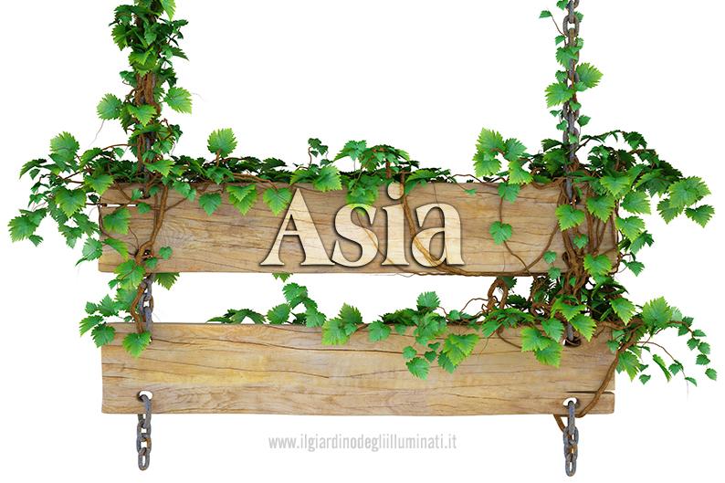 Asia significato e origine
