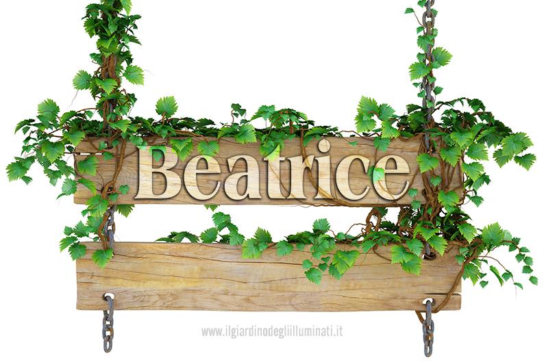 Beatrice significato e origine