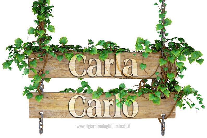 Carla Carlo significato e origine