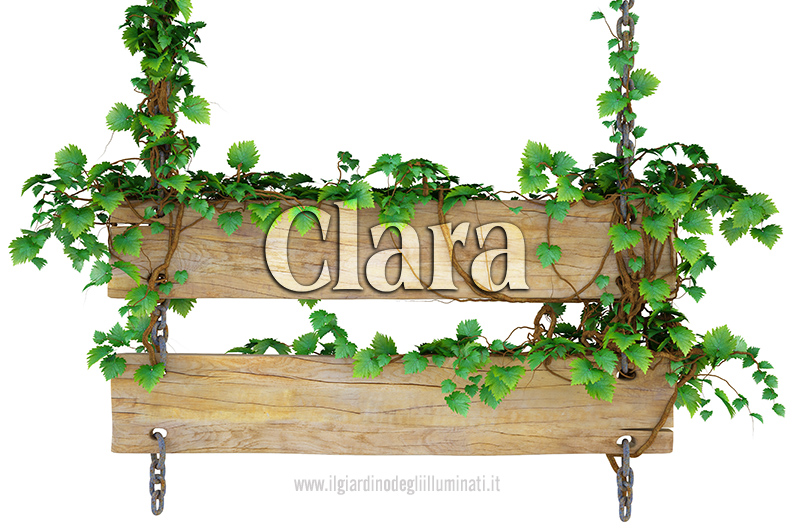 Clara significato e origine