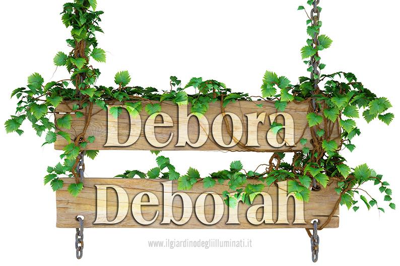 Debora e Deborah significato e origine