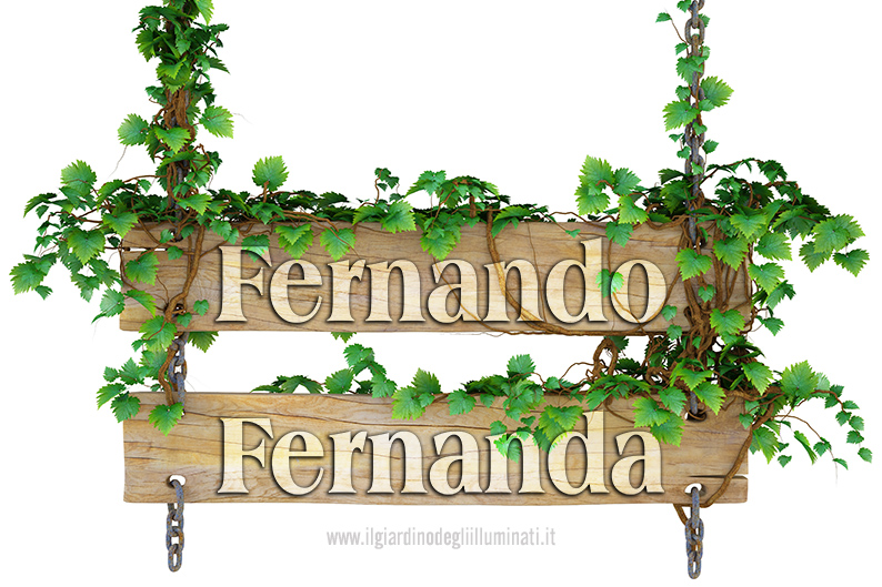 Fernando Fernanda significato e origine