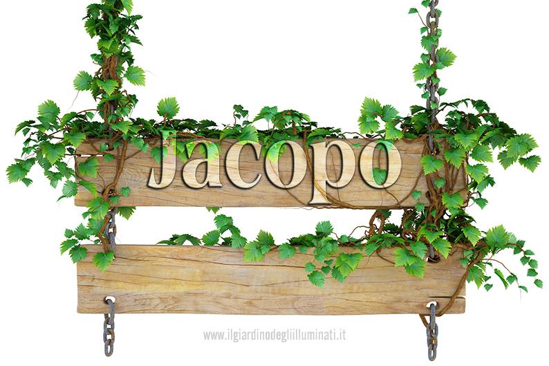 Jacopo significato e origine