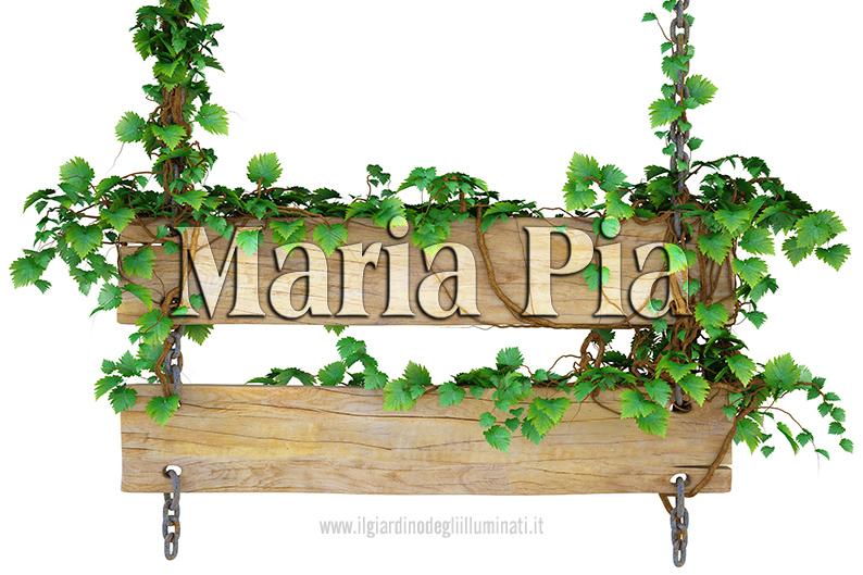 Maria Pia significato e origine