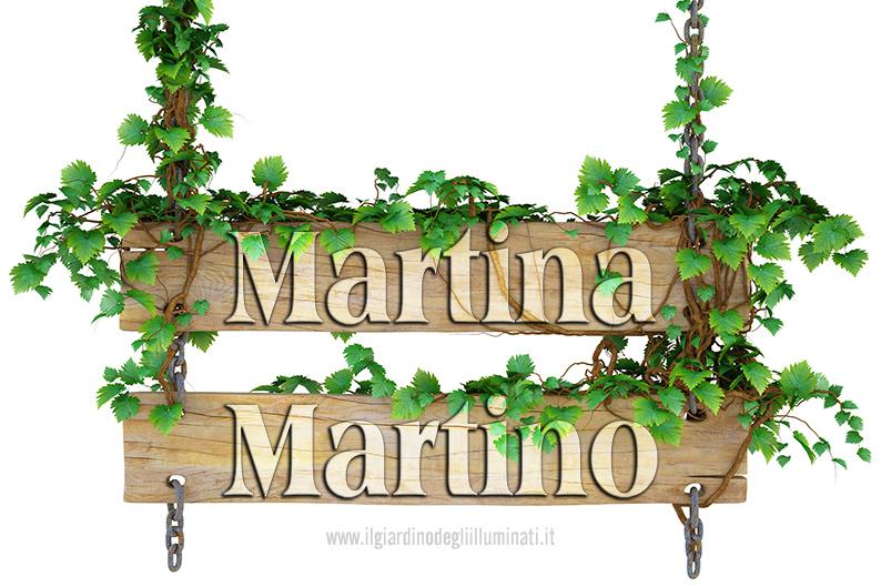 Martina Martino significato e origine