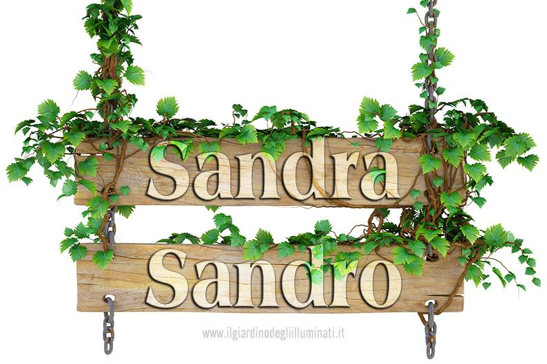 Sandra Sandro significato e origine