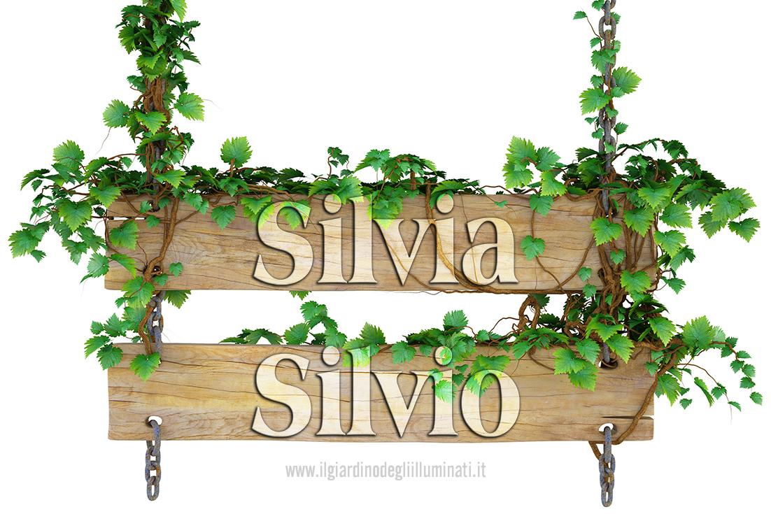 Silvia Silvio significato e origine