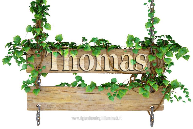 Thomas significato e origine