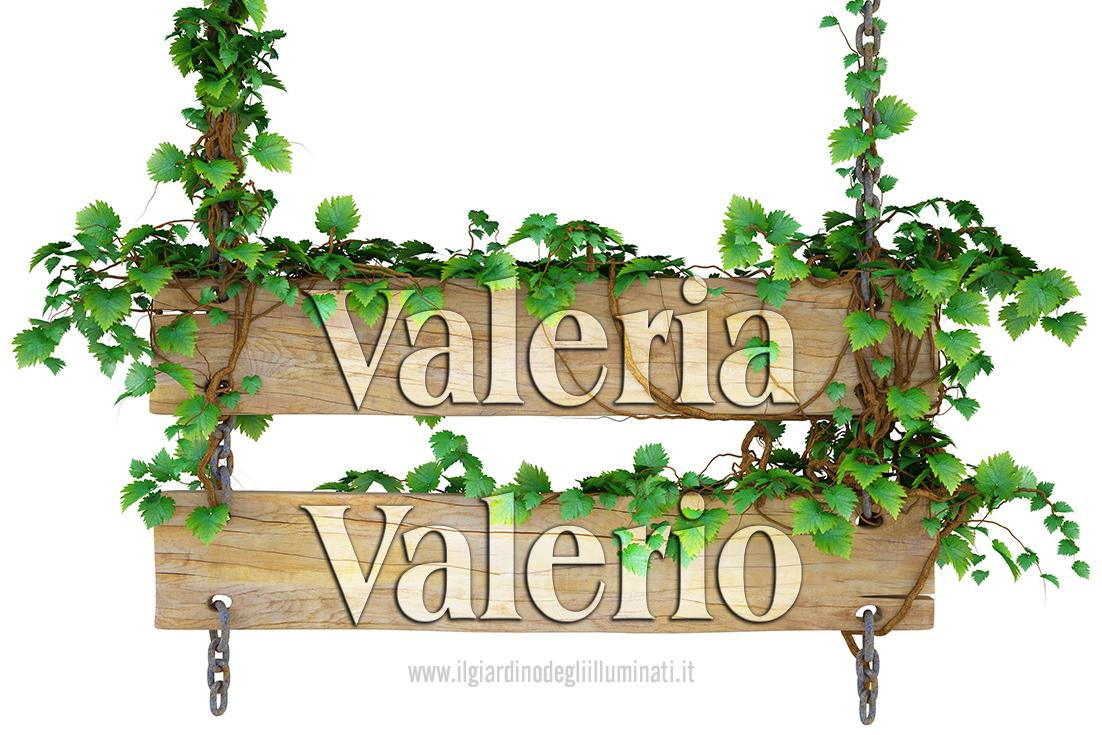 Valeria Valerio significato e origine