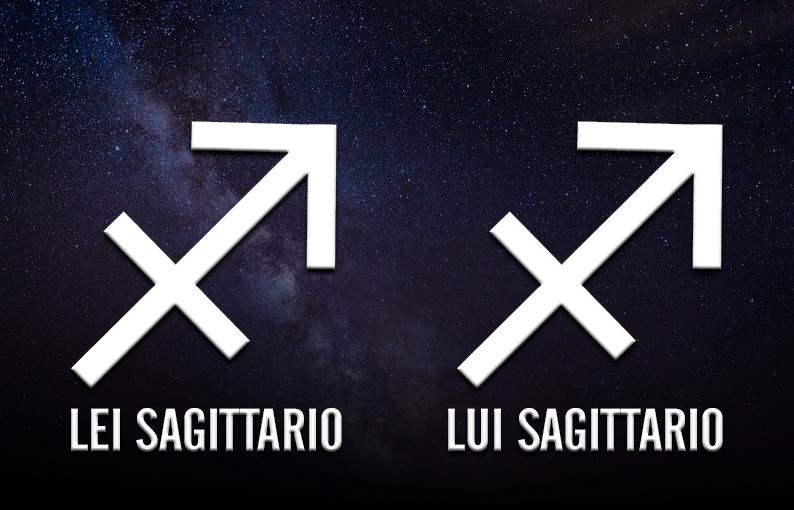 affinità di coppia lei sagittario lui sagittario