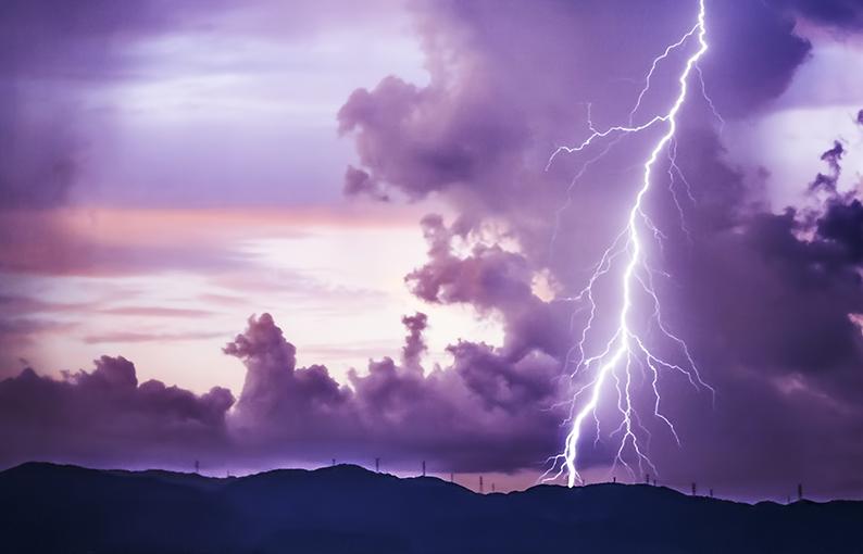 ceraunofobia paura dei fulmini e dei tuoni