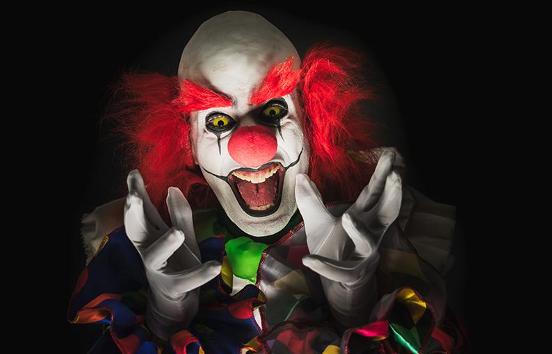 coulrofobia paura dei pagliacci e clown